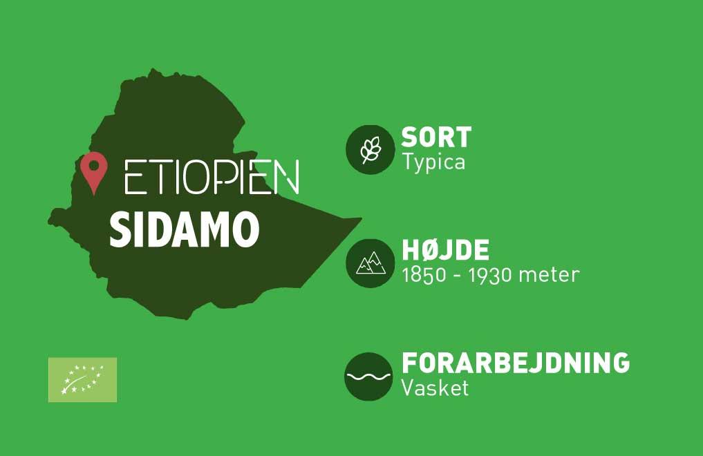 Etiotien Sidamo